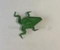 折り紙のカエルの折り方!立体でリアルな作り方を動画と折り図で紹介!