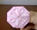 【折り紙の花】簡単な平面の折り方を動画で紹介!1枚で作れるので子供におすすめ