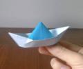 折り紙のふねの折り方